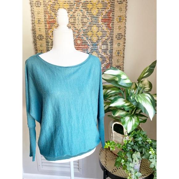 Eileen Fisher Dolman Sleeve Sweater Top
